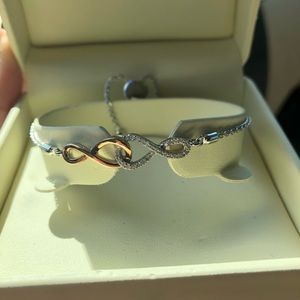 Jared's infinity bracelet
